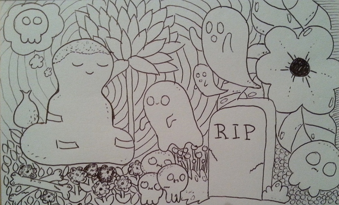 cemetery meditation