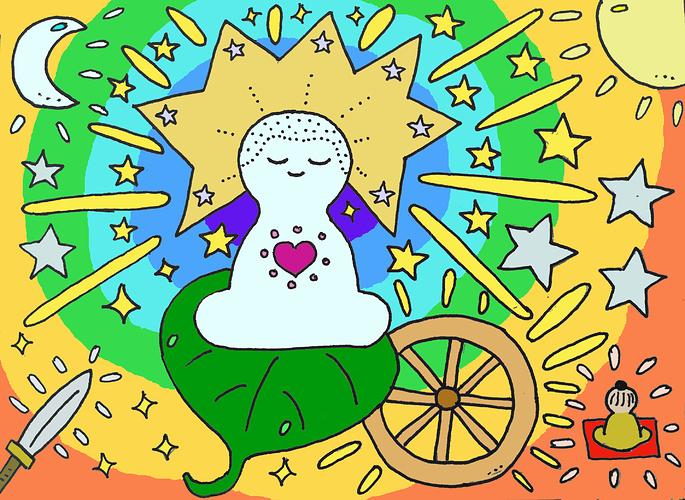Resplendend Buddha 4