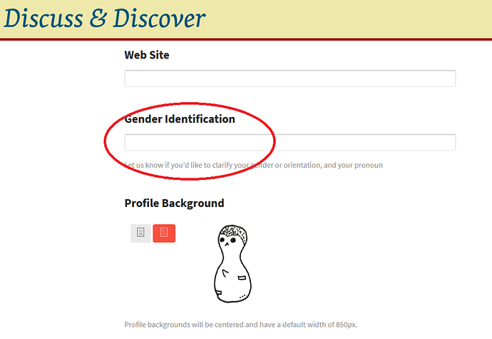 gender identification